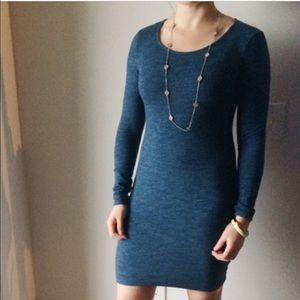 H&M basic fitted dress